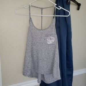 Charlotte Russe Gray tank with skull